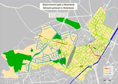 Plan stationnement Molenbeek 01-01-2018