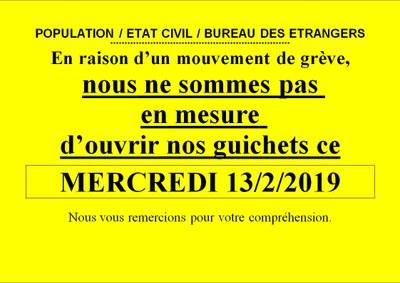 grève 13 02 19 FR