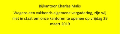 Grève Malis 27 03 2019 NL