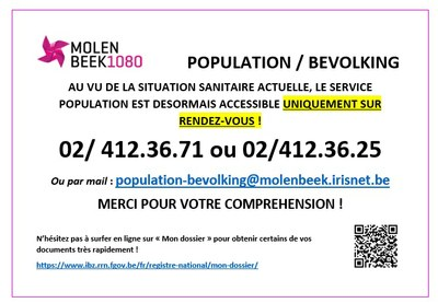 population acces RDV 26 10 2020
