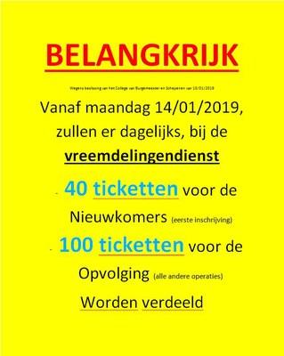 tickets NL